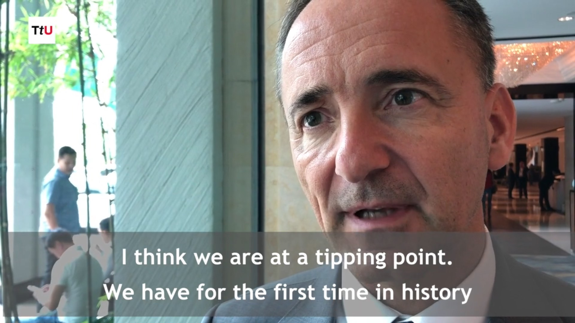 """Video: """"Leaders Must Unleash Human Potential"""" (Interview with Jim Hagemann Snabe)"""